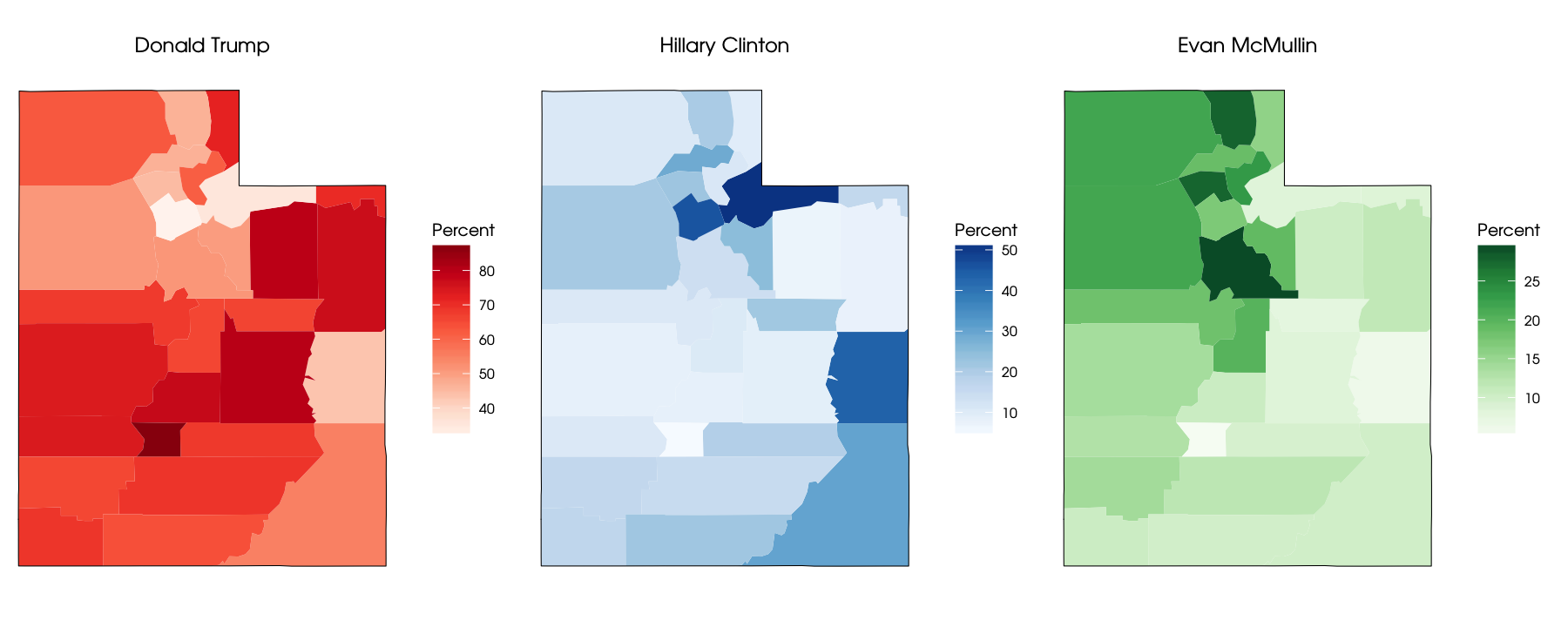 Mapping Election Results in Utah